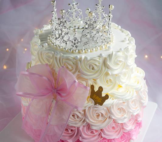 皇冠生日蛋糕创意定制