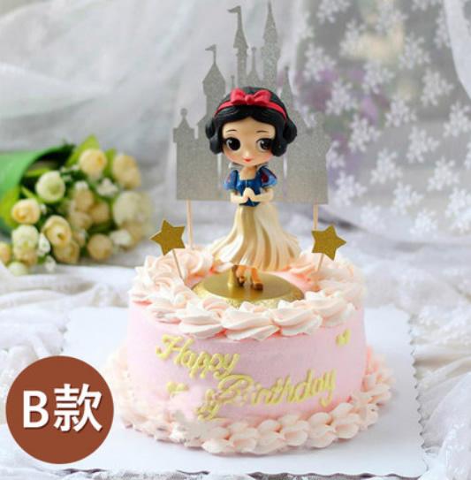 �W�t蛋糕白雪公主B款