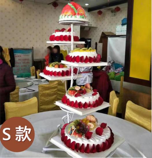 6层祝寿蛋糕