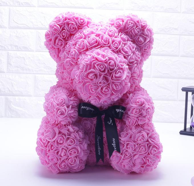 玫瑰熊小款