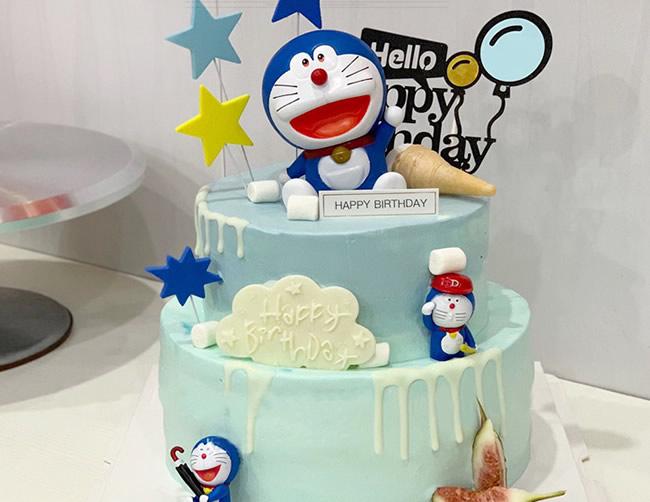 哆啦A梦蛋糕D款