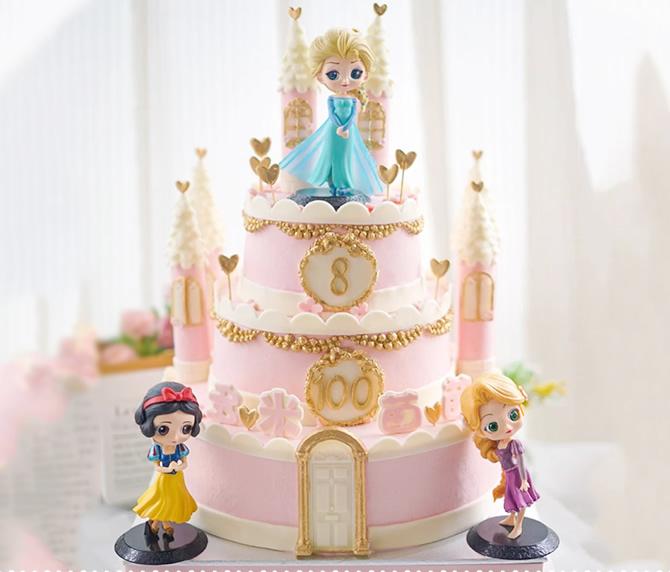 三层儿童蛋糕D款