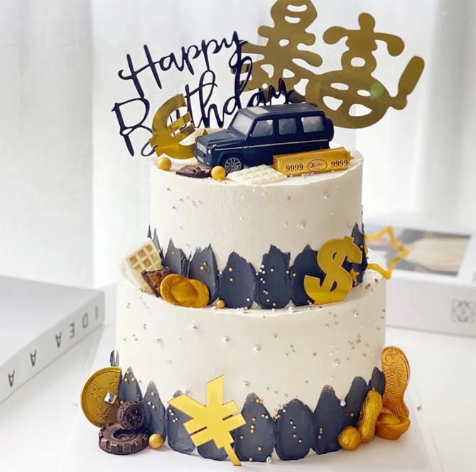 网红奔驰汽车蛋糕G款